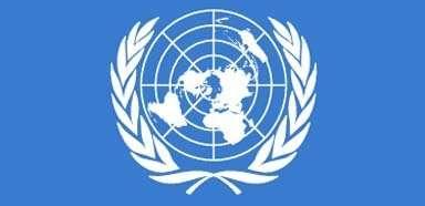 El emblema y la bandera de la ONU Descripción...