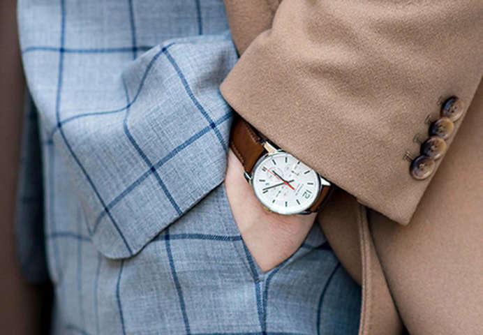 diseño atemporal calidad primero vívido y de gran estilo Reloj ¿En la mano derecha o en la mano izquierda?
