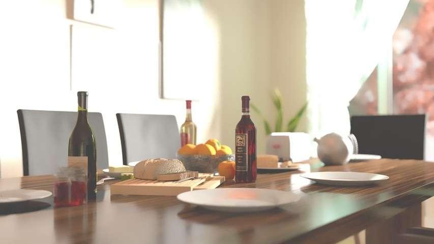 Tipos de mesas Su forma su tamaño y su colocación