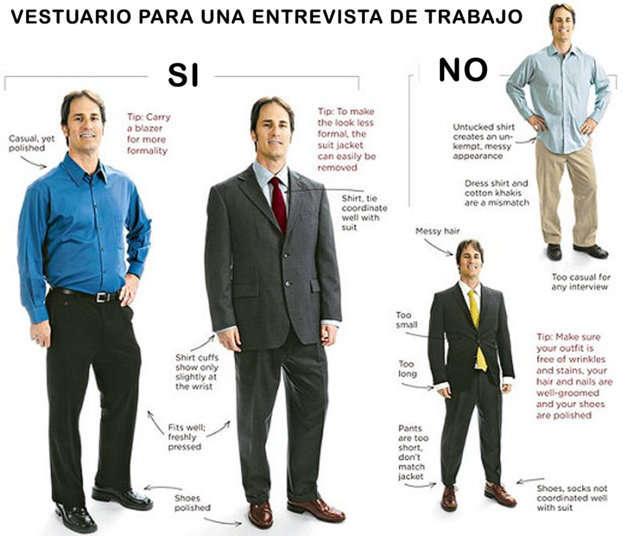 Vestir Para Una Entrevista De Trabajo Qué Ropa Nos Ponemos