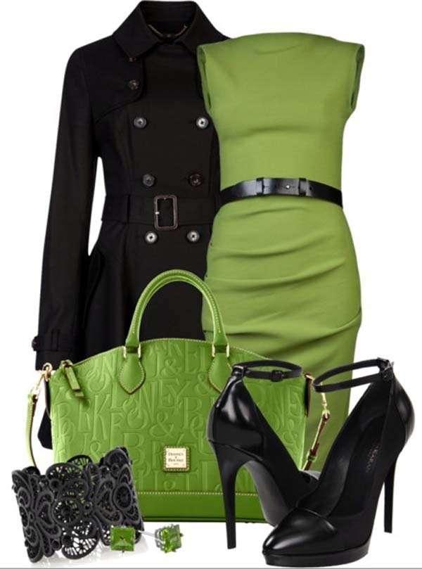 Combinar Una Prenda De Color Verde